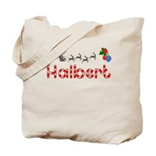Halbert, Christmas Tote Bag