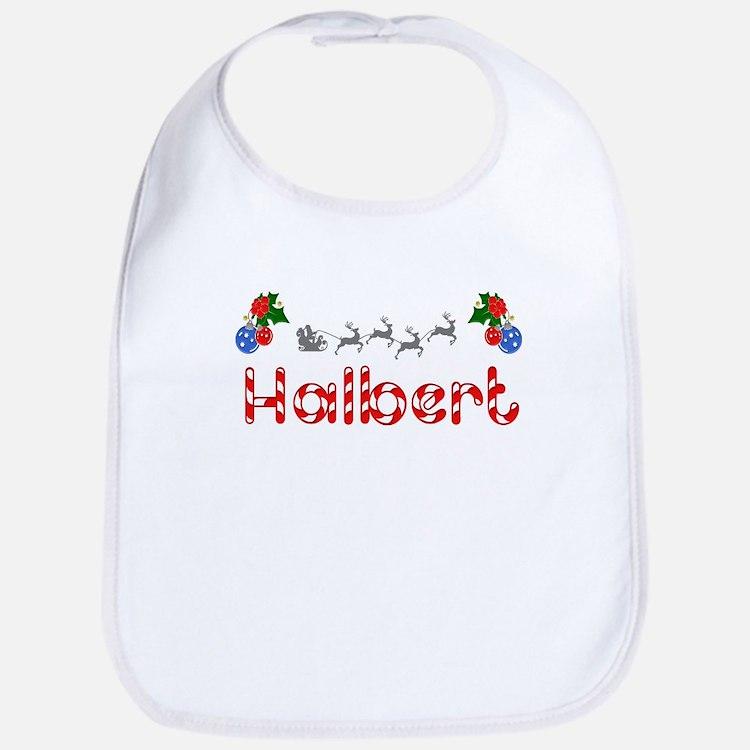 Halbert, Christmas Bib