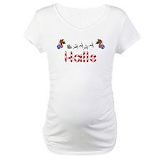 Halle, Christmas Shirt