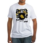 Hueber Coat of Arms Fitted T-Shirt