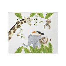Jungle Throw Blanket