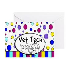 Vet Tech Tote 1.PNG Greeting Cards (Pk of 10)