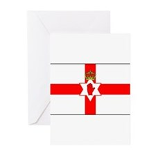 Cute Northern ireland flag Greeting Cards (Pk of 10)