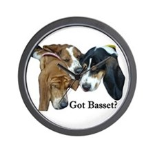 Got Basset? Wall Clock