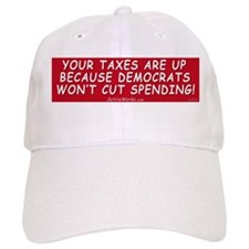 Taxes Are Up Baseball Cap