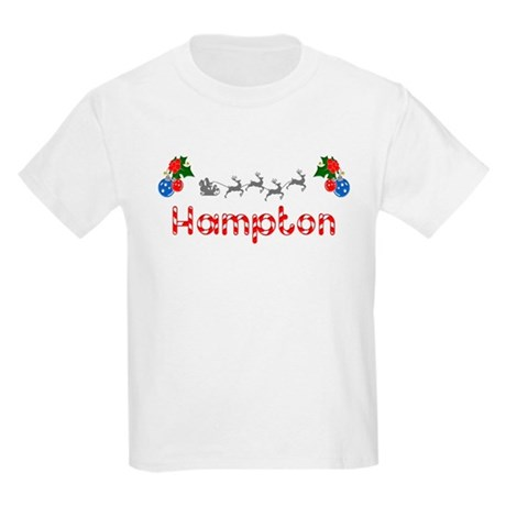 Hampton, Christmas Kids Light T-Shirt