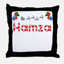 Hamza, Christmas Throw Pillow