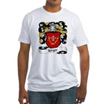 Höger Coat of Arms Fitted T-Shirt