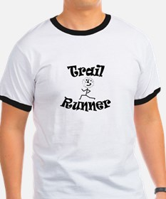 Trail Runner Stick Person T