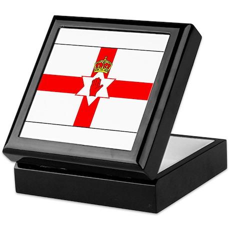 Northern Ireland Keepsake Box