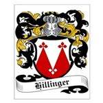 Hillinger Coat of Arms Small Poster