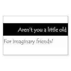 ImaginaryFriends.png Sticker (Rectangle)