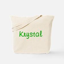 Krystal Glitter Gel Tote Bag
