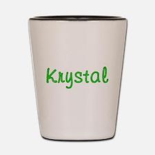 Krystal Glitter Gel Shot Glass