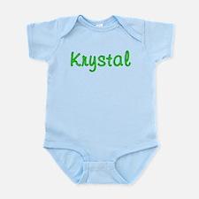 Krystal Glitter Gel Infant Bodysuit