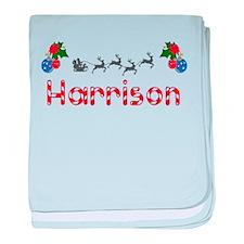 Harrison, Christmas baby blanket