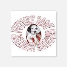 "FUTURE SAGE GROUSE HUNTER Square Sticker 3"" x 3"""