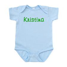 Kristina Glitter Gel Infant Bodysuit
