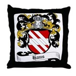 Haus Coat of Arms Throw Pillow