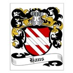 Haus Coat of Arms Small Poster