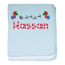 Hassan, Christmas baby blanket