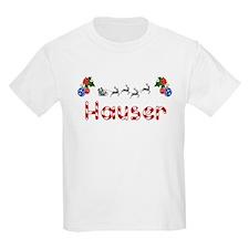 Hauser, Christmas T-Shirt