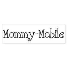 Mommy-Mobile Bumper Car Sticker