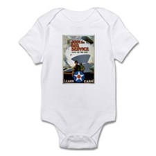 """Give'er The Gun"" WWI Poster Infant Bodysuit"