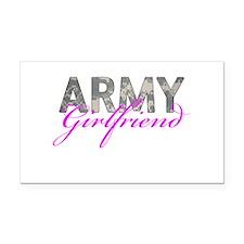ACU Army Girlfriend Rectangle Car Magnet