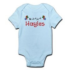 Hayles, Christmas Infant Bodysuit