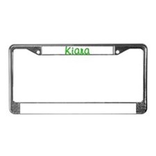 Kiara Glitter Gel License Plate Frame