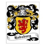 Habsburg Coat of Arms Small Poster