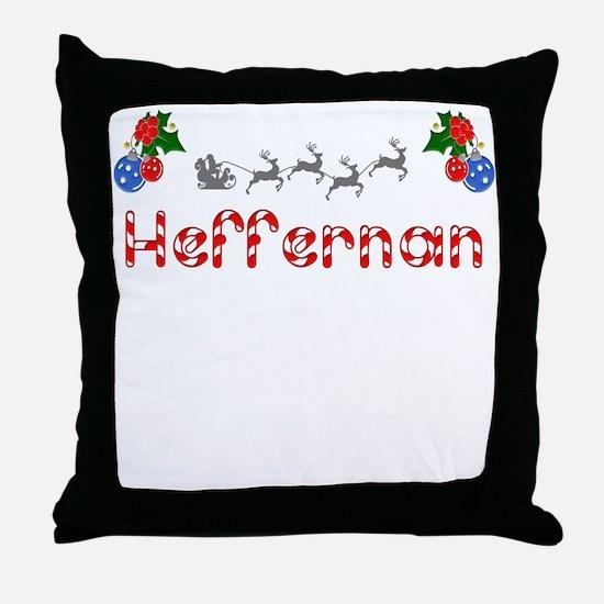 Heffernan, Christmas Throw Pillow