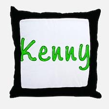 Kenny Glitter Gel Throw Pillow