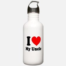 I Love My Uncle: Water Bottle