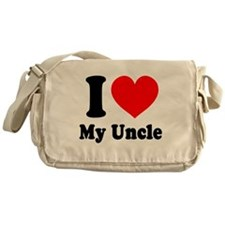 I Love My Uncle: Messenger Bag