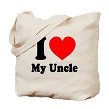 I Love My Uncle: Tote Bag