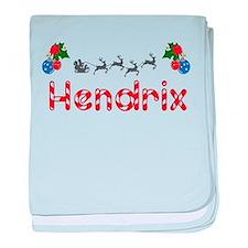 Hendrix, Christmas baby blanket