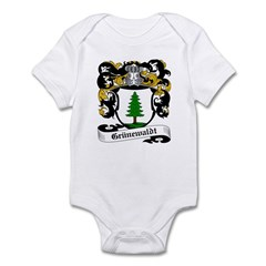 Grünewaldt Coat of Arms Infant Bodysuit