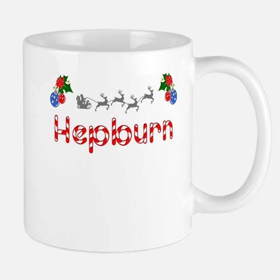 Hepburn, Christmas Mug