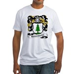 Grunewaldt Coat of Arms Fitted T-Shirt