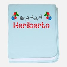 Heriberto, Christmas baby blanket