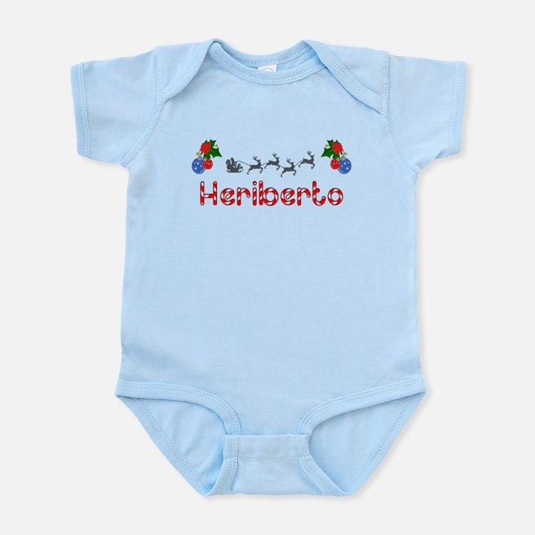 Heriberto, Christmas Infant Bodysuit