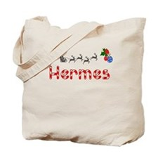 Hermes, Christmas Tote Bag