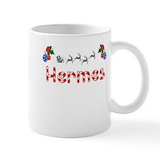 Hermes, Christmas Small Mug