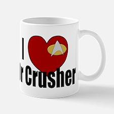 I Love Dr Crusher Mug