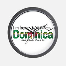 Wesley Dominica Wall Clock