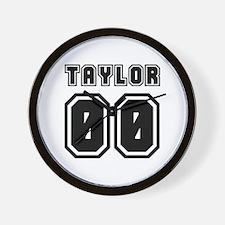 TAYLOR JERSEY 00 Wall Clock