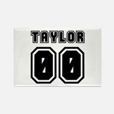 TAYLOR JERSEY 00 Rectangle Magnet