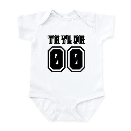 TAYLOR JERSEY 00 Infant Bodysuit